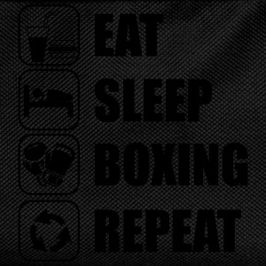 Eat,sleep,boxing,repeat Boxhandschuhe Boxer Boxen - Kinder Rucksack