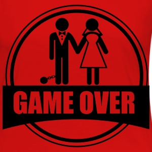 Game Over  - Dame premium T-shirt med lange ærmer