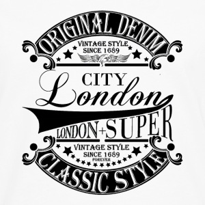 City London T-Shirts - Men's Premium Longsleeve Shirt