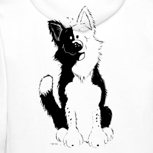 Cute Border Collie Tee shirts - Sweat-shirt à capuche Premium pour hommes