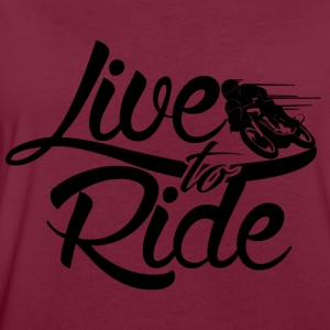 Live to Ride  Pullover & Hoodies - Frauen Oversize T-Shirt