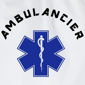 ambulancier logo 3 Sweat-shirts - Sac de sport léger