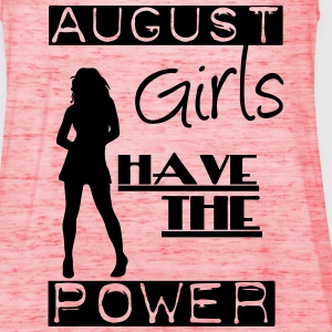 August Girls T-Shirts - Women's Tank Top by Bella