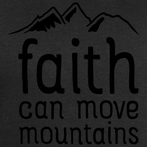 Faith Can Move Mountains T-Shirts - Men's Sweatshirt by Stanley & Stella