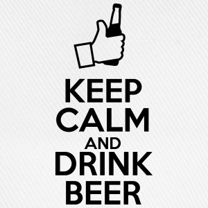 Keep calm and drink beer  - Baseballkappe