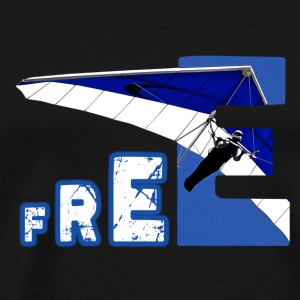 Hangglider Freedom - THE SKY IS MY LIMIT! - Männer Premium T-Shirt
