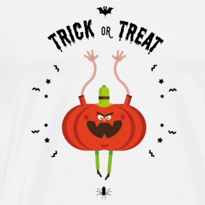 trick or treat Manches longues - T-shirt Premium Homme