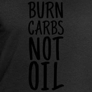 Burn Carbs Not Oil T-skjorter - Sweatshirts for menn fra Stanley & Stella
