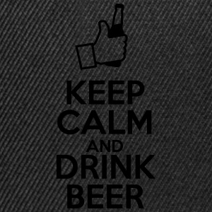 Keep calm and drink beer  - Snapback Cap