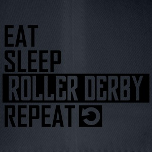 eat sleep roller derby T-Shirts - Flexfit Baseballkappe