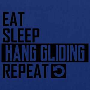 eat sleep hang gliding T-Shirts - Stoffbeutel