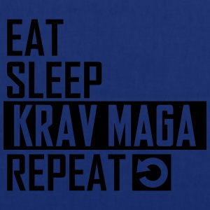 eat sleep krav maga T-Shirts - Stoffbeutel