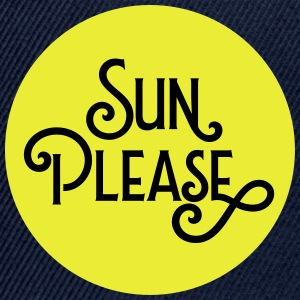 Sun Please Tee shirts - Casquette snapback
