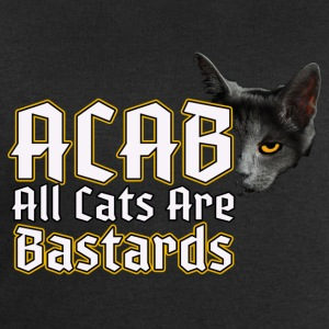 All Cats Are - ACAB Bags & Backpacks - Men's Sweatshirt by Stanley & Stella