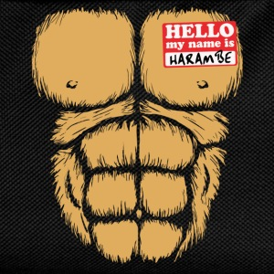 Hello My Name Is Harambe T-Shirts - Kids' Backpack