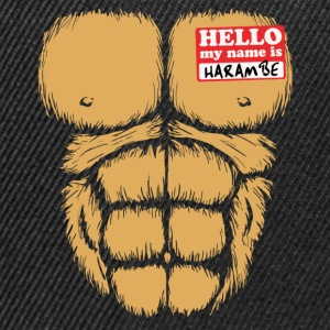 Hello My Name Is Harambe T-Shirts - Snapback Cap