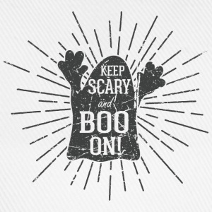 Keep scary and boo on Sportsklær - Baseballcap