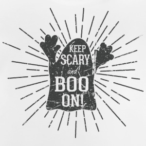 Keep scary and boo on Langærmede shirts - Baby T-shirt