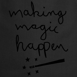 Making Magic Happen Camisetas - Delantal de cocina
