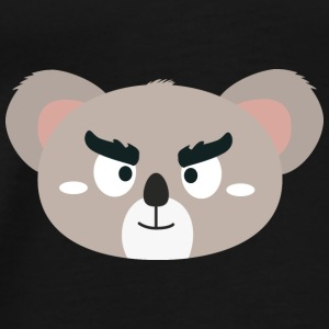 Angry Koala head Bags & Backpacks - Men's Premium T-Shirt
