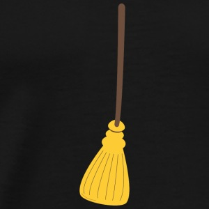 Broom for halloween Baby Bodysuits - Men's Premium T-Shirt