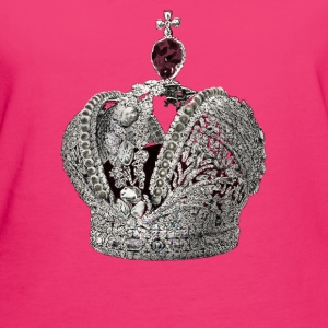 Crown Tröjor - Ekologisk T-shirt dam