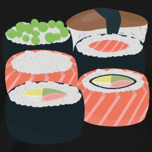Number of different Sushi rolls Hoodies & Sweatshirts - Men's Premium T-Shirt
