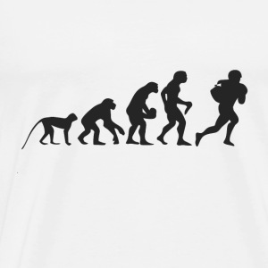 Evolution Football Baby-bodyer - Herre premium T-shirt