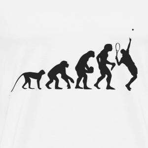 Evolution Tennis Tröjor - Premium-T-shirt herr