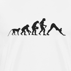 Evolution Yoga Sweatshirts - Herre premium T-shirt