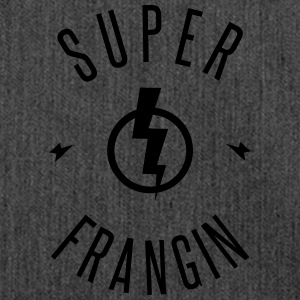 SUPER FRANGIN Sweat-shirts - Sac bandoulière 100 % recyclé