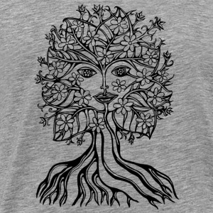 Tree fairy, save, earth, planet, forest, fantasy Övrigt - Premium-T-shirt herr