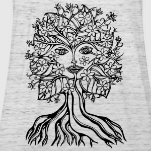 Tree fairy, save, earth, planet, forest, fantasy T-shirts - Dame tanktop fra Bella