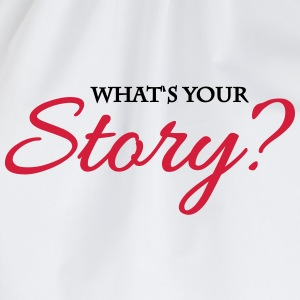 What's your story? T-shirts - Gymnastikpåse