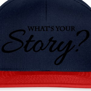 What's your story? Vêtements Sport - Casquette snapback