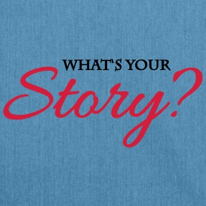 What's your story? Sportkleding - Schoudertas van gerecycled materiaal