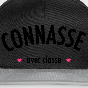 connasse2 Tee shirts - Casquette snapback