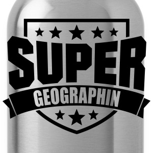 Super Geographin T-Shirts - Trinkflasche
