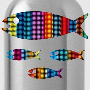 Fish, sea, water sports, boat, surf, ocean T-Shirts - Water Bottle
