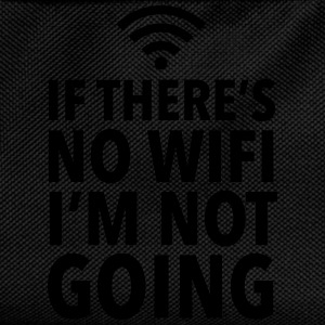 If There's No WIFI I'm Not Going Débardeurs - Sac à dos Enfant
