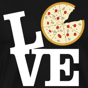 Love Pizza Sweat-shirts - T-shirt Premium Homme