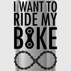 I Want To Ride My Bike Forever Sweat-shirts - Gourde