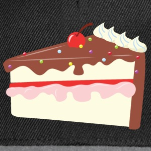 Cherry Chocolate Cake T-Shirts - Snapback Cap
