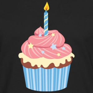 Birthday Cupcake Sweat-shirts - T-shirt manches longues Premium Homme