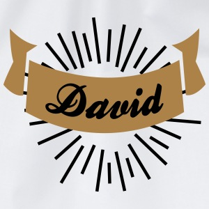 david T-Shirts - Turnbeutel