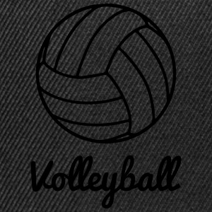 Volleyball Volley ball Sportbekleidung - Snapback Cap