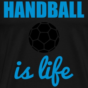Handball is life Gensere - Premium T-skjorte for menn