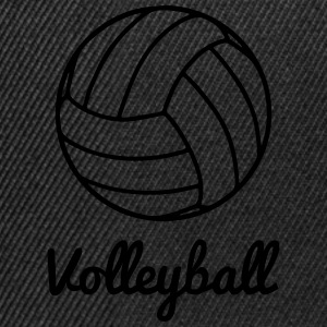 Volleyball Volley ball Tee shirts - Casquette snapback