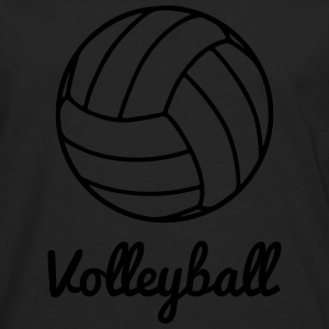 Volleyball Volley ball Sudaderas - Camiseta de manga larga premium hombre