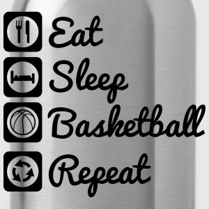 Eat sleep basketball Top - Borraccia